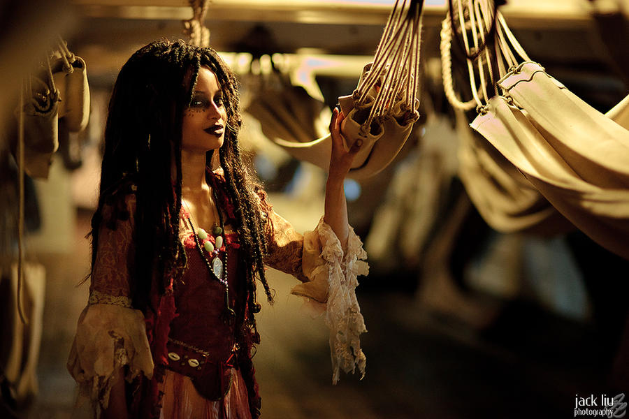 Tia Dalma - Pirates of the Carribbean - 3 by alucardleashed