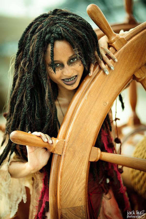 Tia Dalma - Pirates of the Carribbean - 5 by alucardleashed