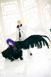 Dark Mousy and Krad (DNAngel) @ Katsucon 2012 by alucardleashed