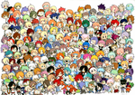 THAT'S A LOT OF CHARACTERS