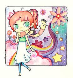 follow the rainbow by Valerei