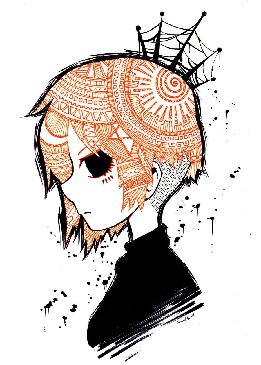 Ink princess by Valerei