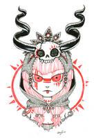 skull by Valerei