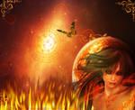 Fire Element Goddess