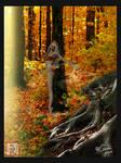 Autumn Goddess Detail