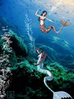 Under The Sea by chenoasart