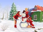 Merry Christmas by chenoasart