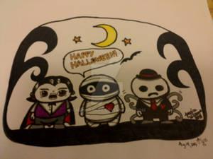 My Halloween Drawing 2015