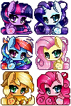 Free Icons! by Clefficia