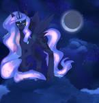 Speedpaint: Princess luna