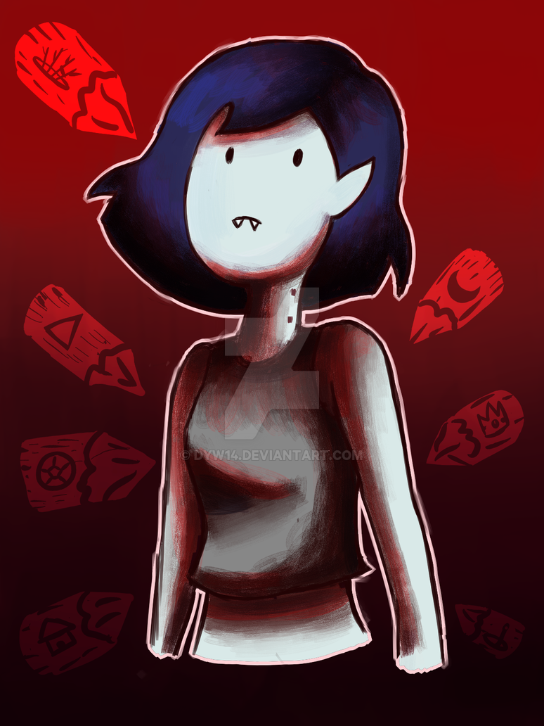 Adventure Time  Marceline Stakes by DYW14