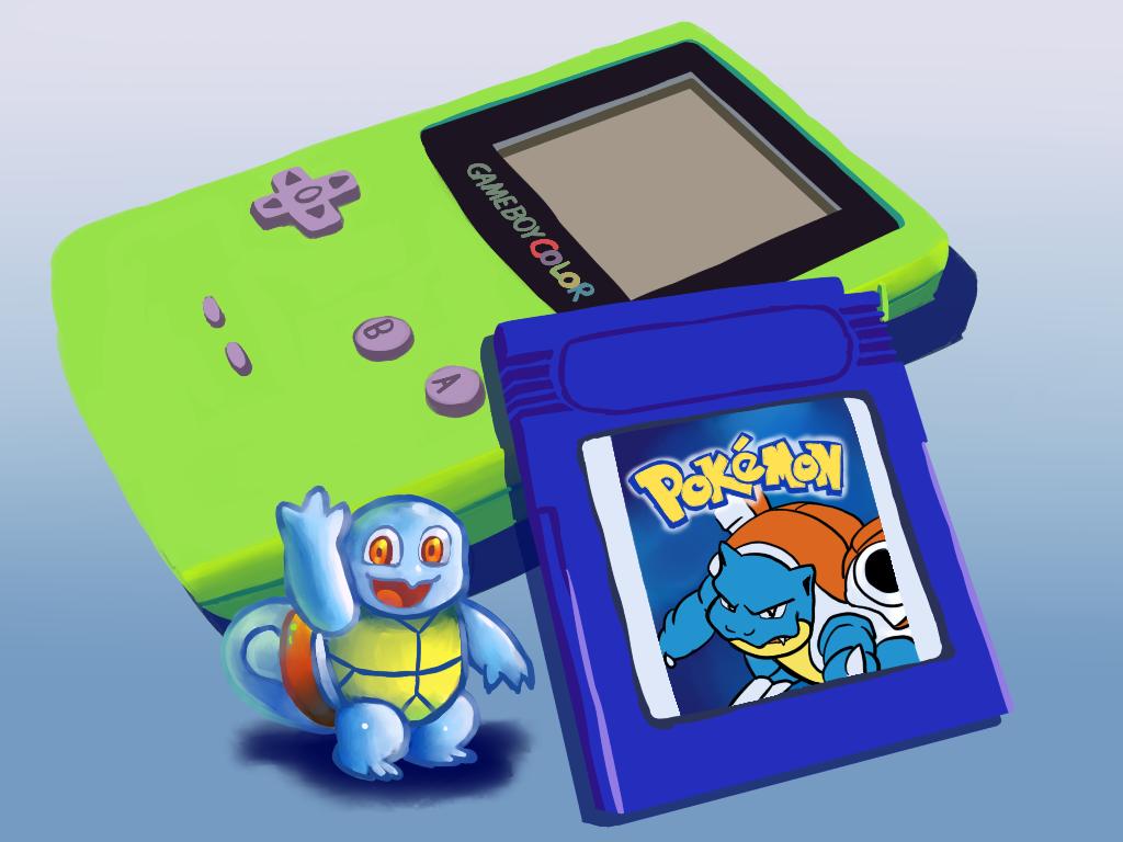 Pokemon Blue Squirtle - Speedpaint Link by DYW14