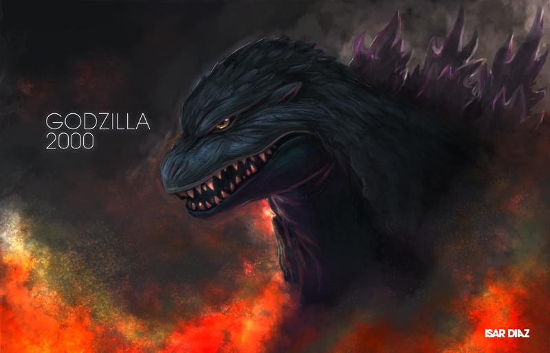Godzilla 2000 by IZZARCHRON