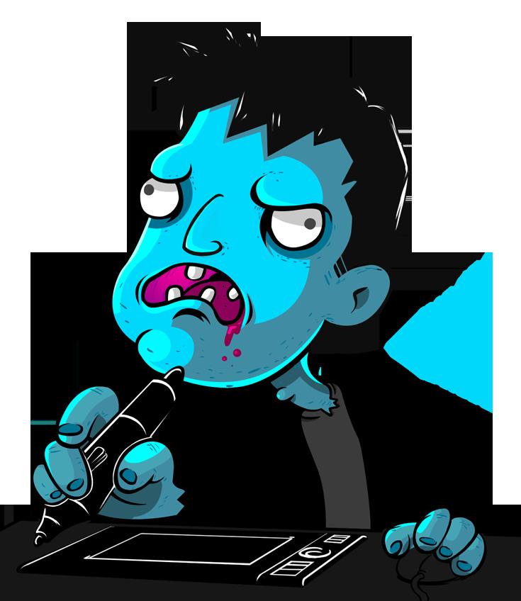 Zombie Izzarchron ID by IZZARCHRON