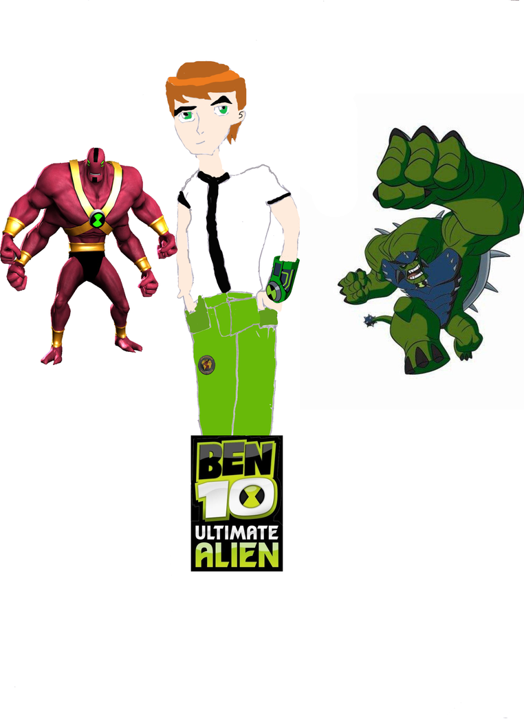 Ben 10 adult but old style by ~DB-UR on deviantART