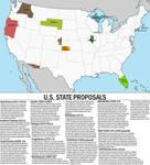 Proposed US states