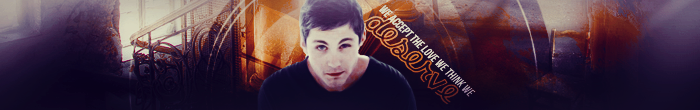 Perks Of Being A Wallflower-Logan Lerman Banner 1 by greekmythlover24