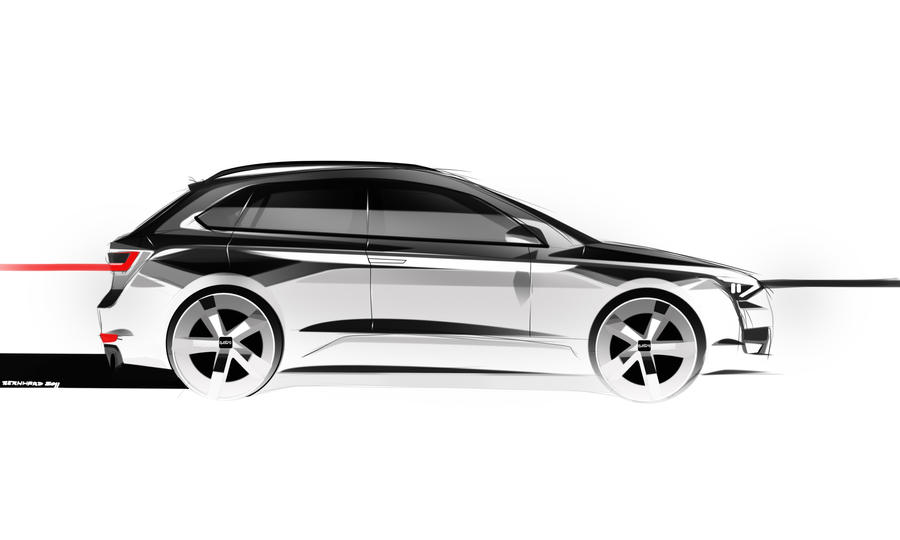 AUDI Q1 QUATTRO CONCEPT SIDE VIEW by JB-95