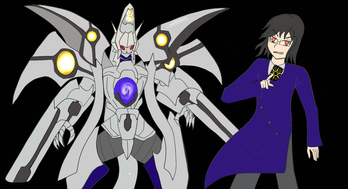 Evil J0N0S from the past timeline and God Gyze by J0N0S