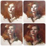 Portrait Painting Process