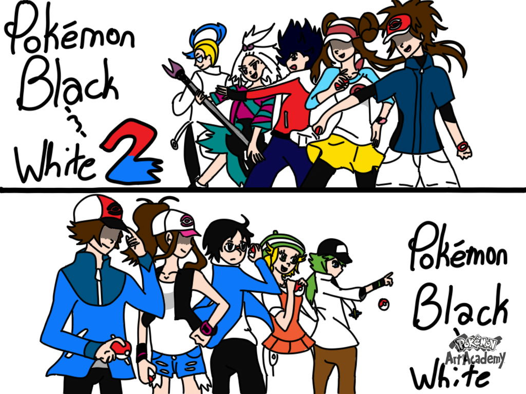 Pokemon Black Vs White Images