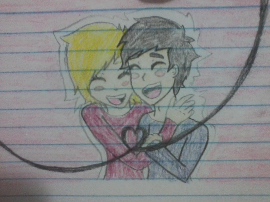 Random Relationship Goals Sketch by ComicalShadow
