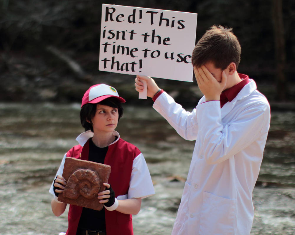 twitch plays pokemon red cosplay 5 by ougra on deviantart