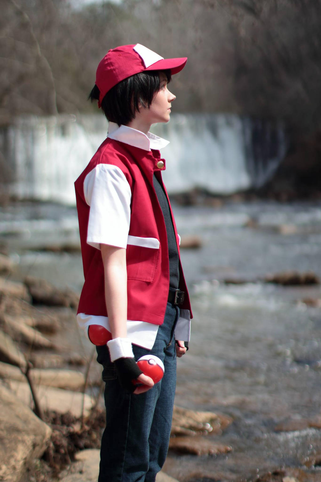 twitch plays pokemon red cosplay 6 by ougra on deviantart