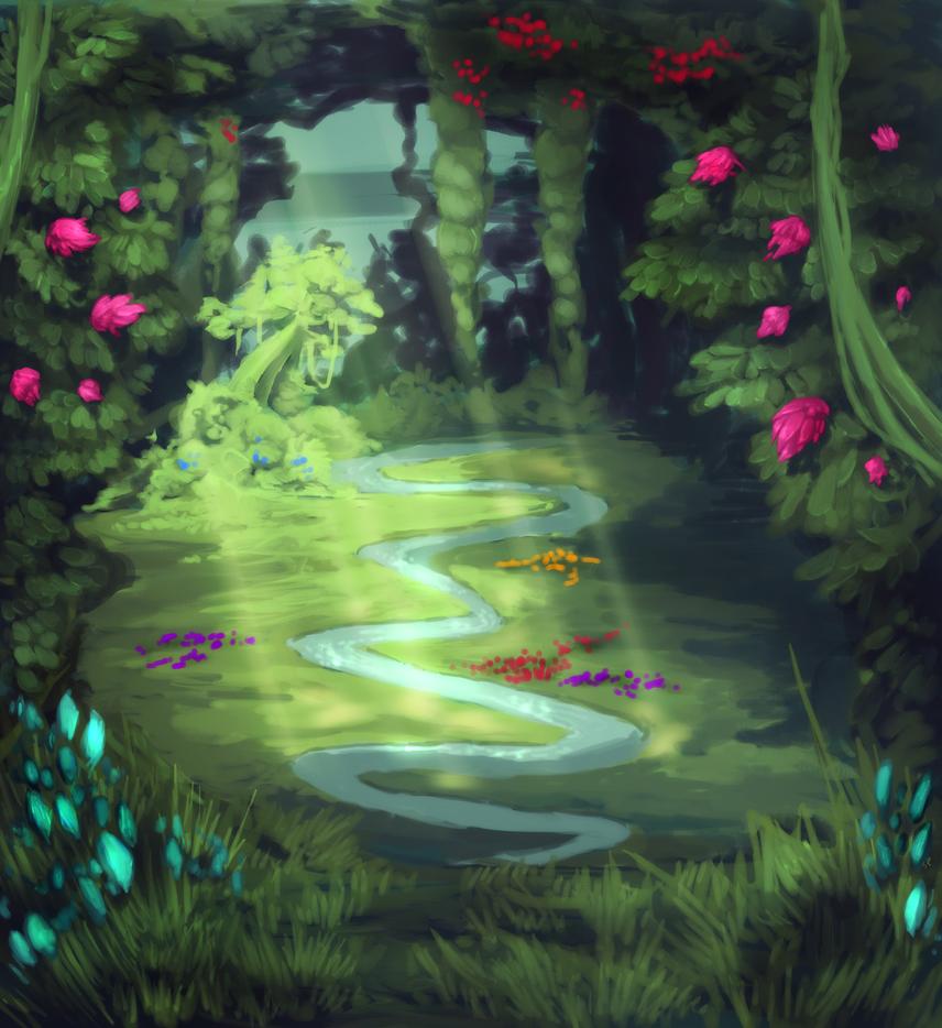 The Garden by Urnam-BOT