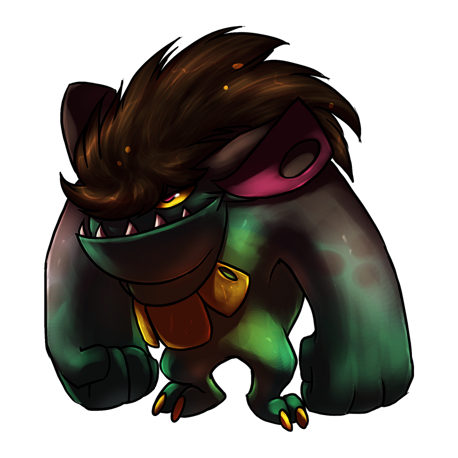 Monster 1 by Urnam-BOT
