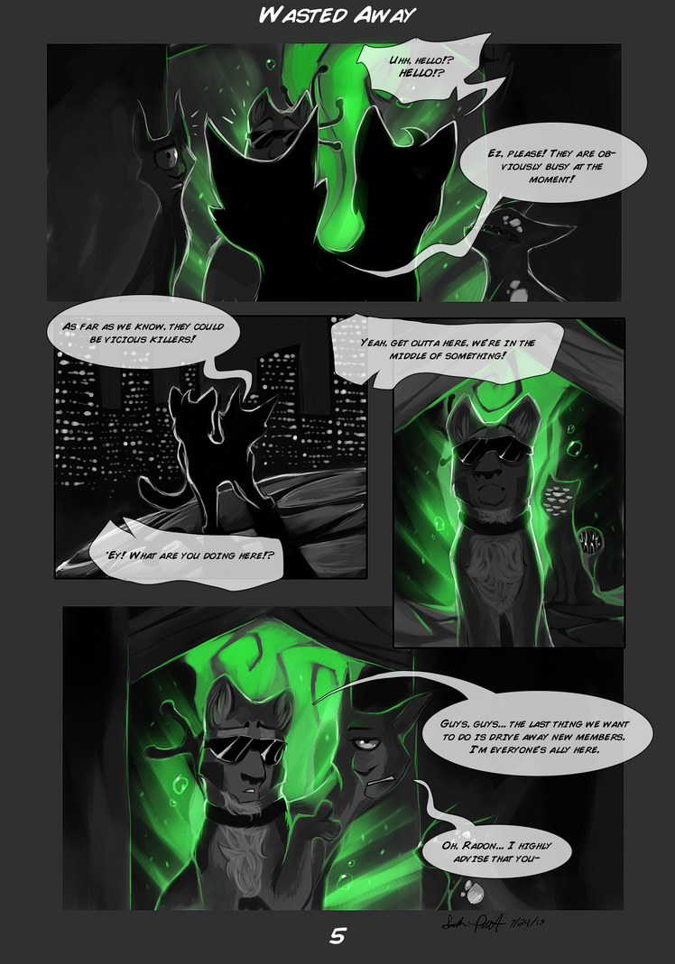 Wasted Away Page 5