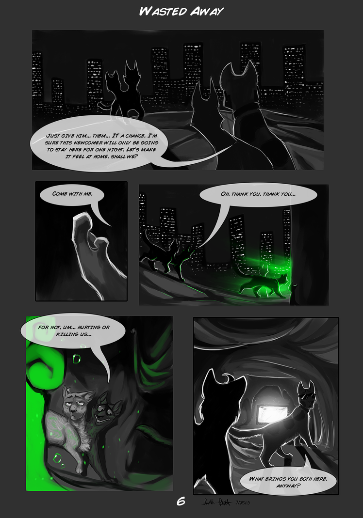 Wasted Away Page 6