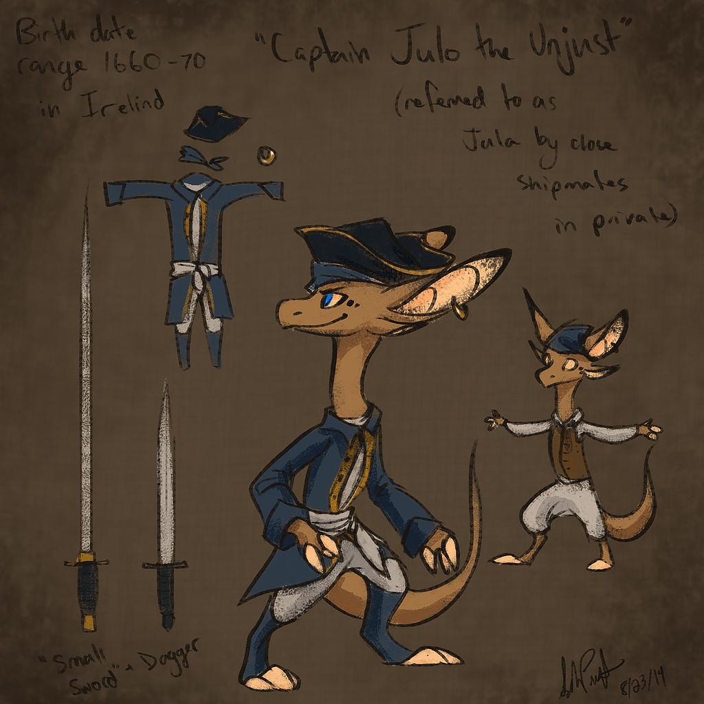 Captain Jula by Urnam-BOT