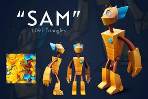 Sam - 3D Render