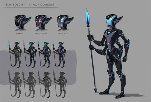 Blik Armor Concept