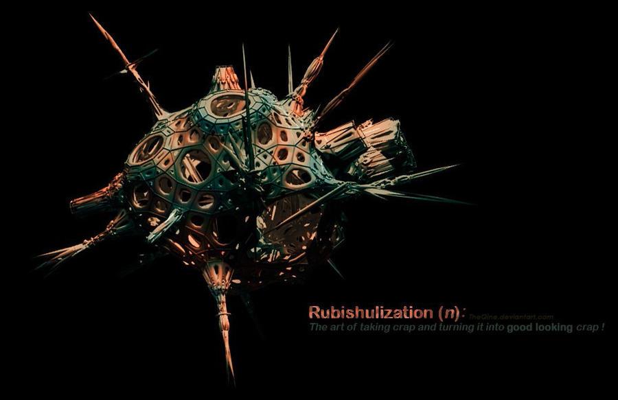 Generative Rubishulization... by TheQine