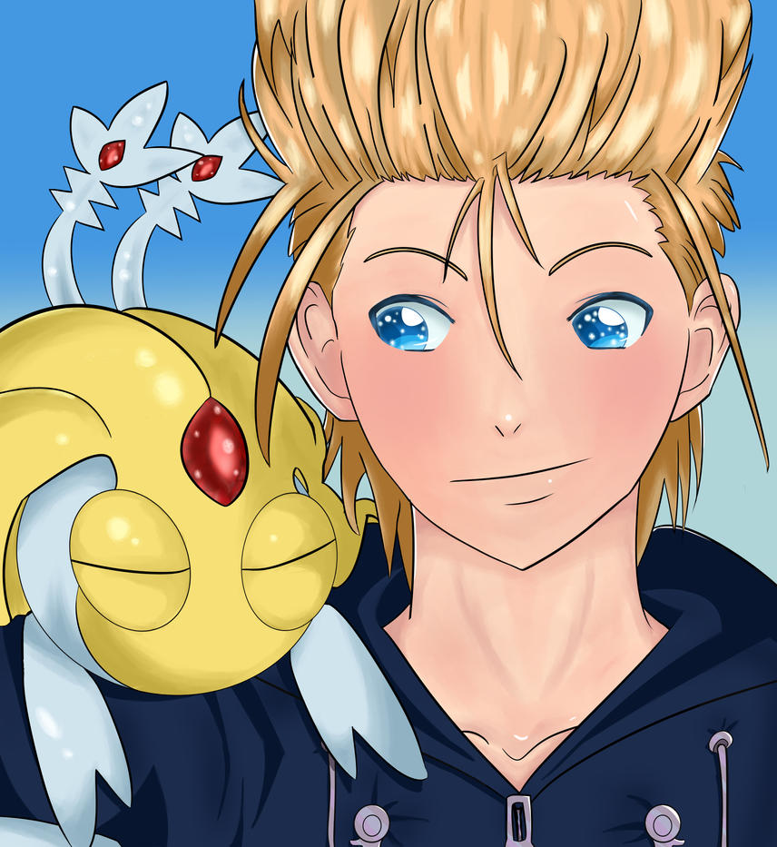 Demyx and Uxie by EgyptianDream