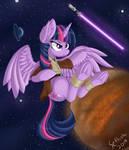 Twilight Sparkle Jedi: SPACE MARES