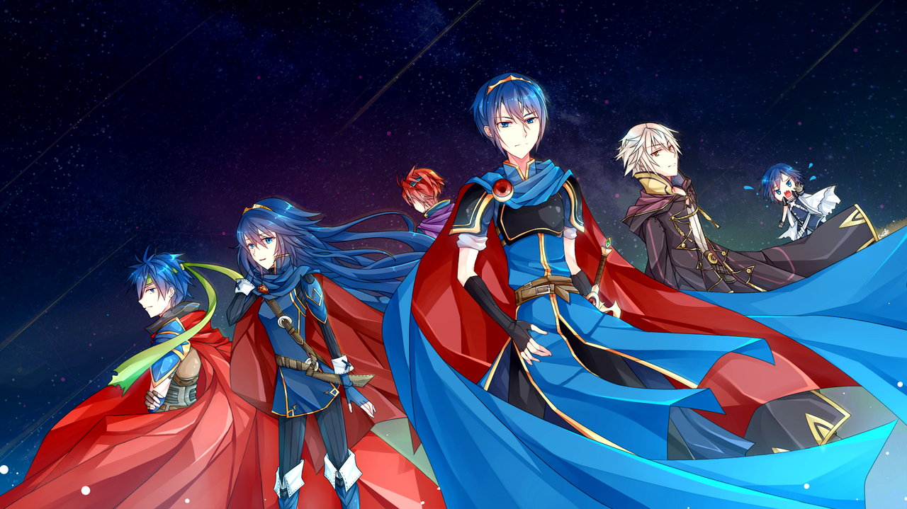 Anime Characters For Smash : Fe characters in smash bros by camiruchi on deviantart