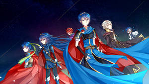 FE Characters in Smash Bros. by camiruchi