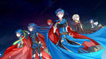 FE Characters in Smash Bros.