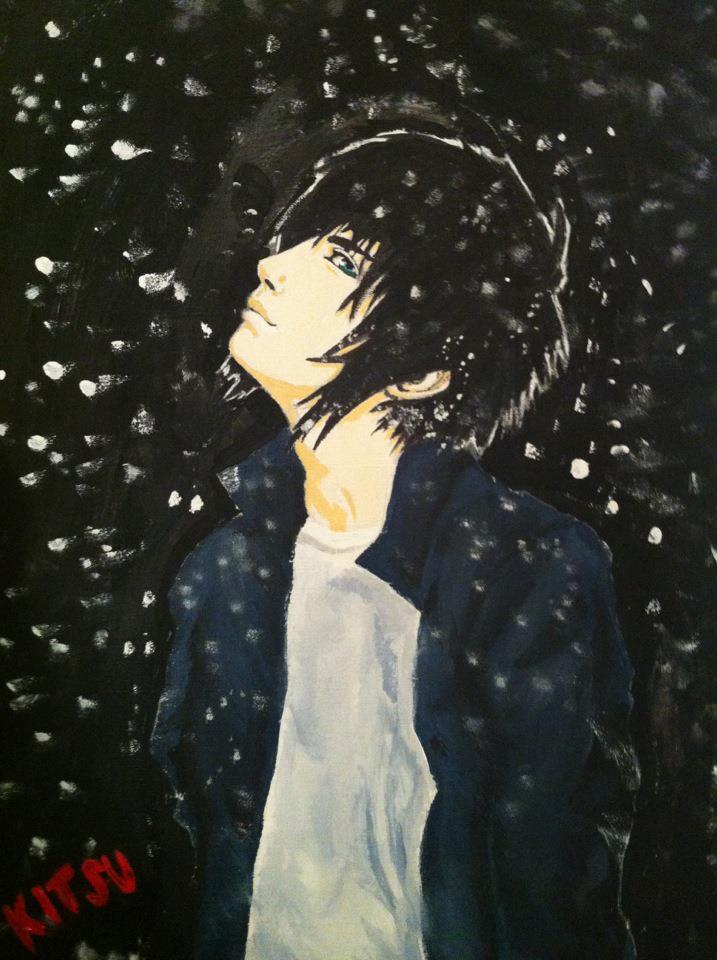Snow by xkitsunexudonx