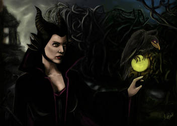 Maleficent by Amandia
