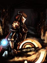 Enhancement Shaman - World of Warcraft by Amandia