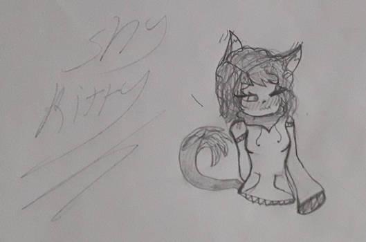 A Shy Kitty