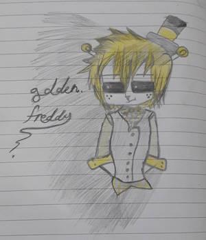 Chibi Golden Freddy