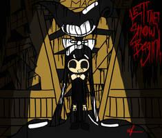 The Ink Demon (BATIM Fan Art) by StudioLimbo