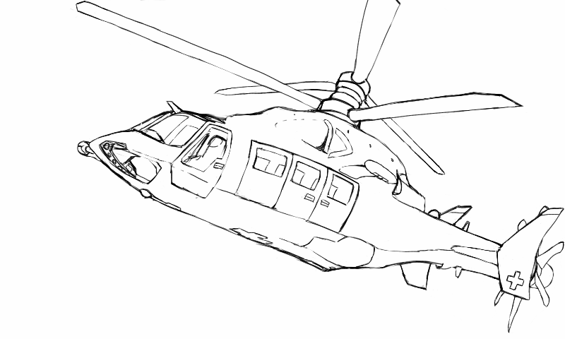 Cool Helicopter Drawing Images - Frompo