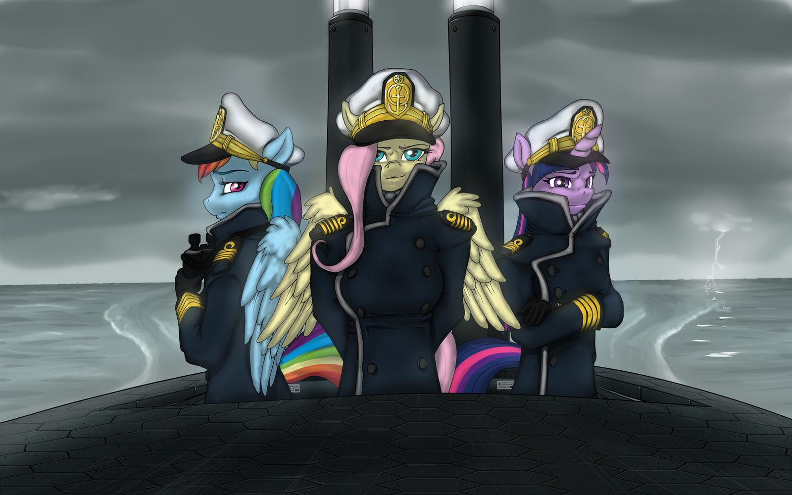 Captain Fluttershy by SwissLeo
