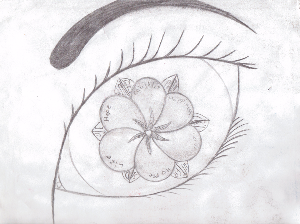 yin yang eye emotion flower by kfwisely on deviantart